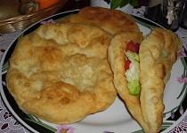 Indický Naan chléb