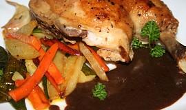 Kuře s glassé balsamico