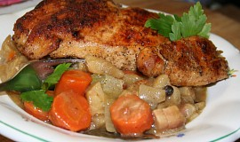 Kuřecí na kořenové zelenině