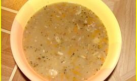 Novoroční čočková polévka