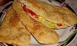 Sezamový chléb z Íránu