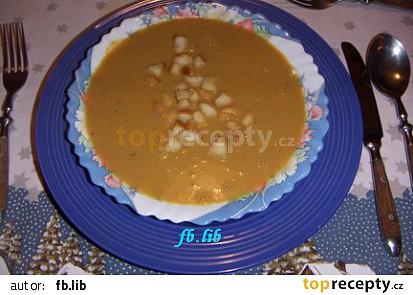 Vánoční rybí polévka krémová
