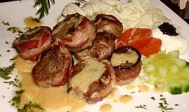 Vepřové medailonky se slaninou