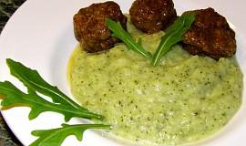 Bramborovo-brokolicová kaše