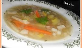 Fazolová polévka se zelím pro Michalku