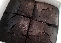 Karobový koláč pro 2 osoby