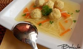 Knedlíčky do polévky z míchaných vajec - kořeněné