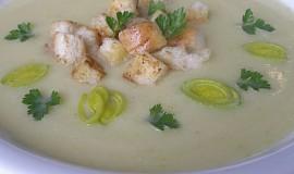 Petrželová krémová polévka