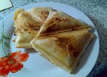 Sendviče z listového těsta