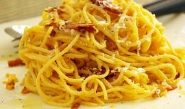 Autentické špagety carbonara podle Emanuela