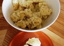 Expres krupicové nočky s bazalkou - do polévky