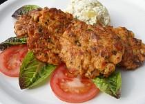 Harissové kuřecí placičky