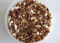 Kakaovo-kávové müsli bez lepku a mléka