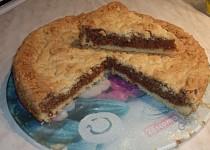 Křupavý ořechový koláč