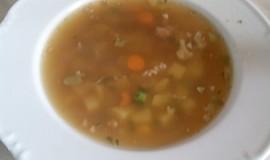 Polévka z mletého masa ( rychlá )