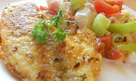 Rybí kari s hořčicí