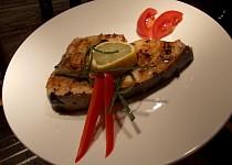 Steak z čerstvého mečouna