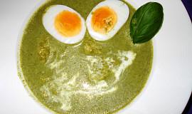 Brčálník – špenátová polévka