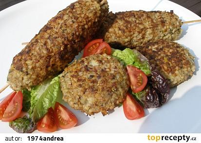Bulgurové kebaby nebo karbanátky