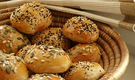 Chlebové pagáče s podmáslím