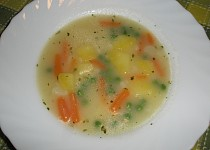 Jarní dietní polévka