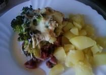 Zapékaná brokolice s anglickou slaninou