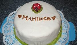 Potahovaný dort pro maminku