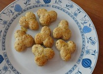 Sýrovo-vločkové keksy