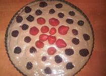 Vanilkovo-čokoládový pudinkový dortík