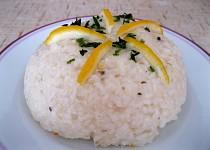 Citronové rizoto bez mléka a vajec