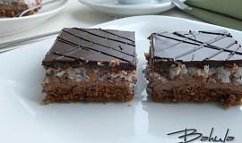 Čokoládovo-kokosové řezy