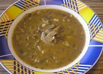 Dršťková polévka ze žampionů