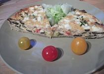 Koláč z pečené zeleniny