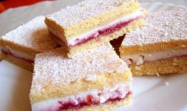 Linecký tvarohový koláč s pikantní marmeládou