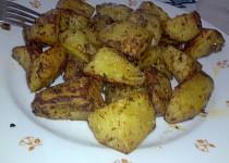 Pikantní pečené brambory