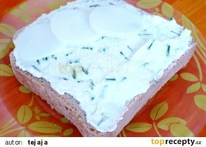 Pomazánky do slaných dortů a pečiva