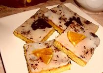 Pomerančové řezy s čokoládou
