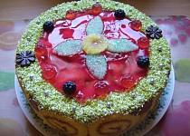 Pudingový dort