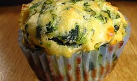 Špenátové muffiny s fetou