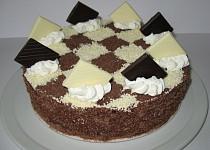 Čokoládový dort s krémem z mascarpone