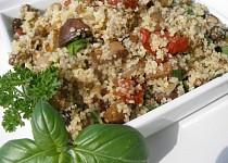 Houbovo kuskusový salát