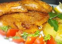 Křehké kuřecí řízky s klobáskovou chutí a vůní