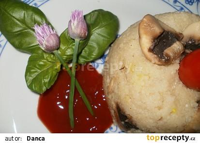 Kuskus nedočkavého houbaře