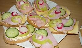 Ředkvičkovo - česneková Rama