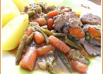 Roládka z krčku a zeleniny