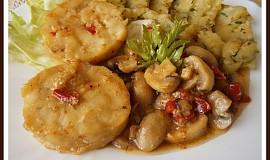 Rybí medailonky v zelenině
