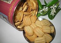 Sušenky s aroma pomerančového květu