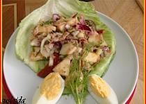 Tuňákový salát s jablkem II.