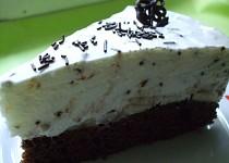 Banánovo - jogurtový dort