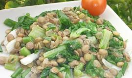 Čočkový salát s mangoldem